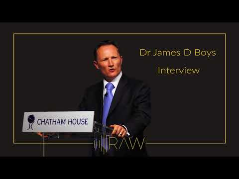 Dr James D Boys | RAW Interviews