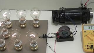 Old mechanical inverter DC AC