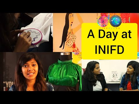A day at INIFD Udaipur | Fashion | Interior | Fireflydo