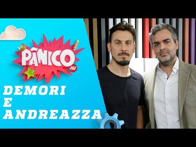 Leandro Demori (The Intercept) e Carlos Andreazza - Pânico - 27/06/19