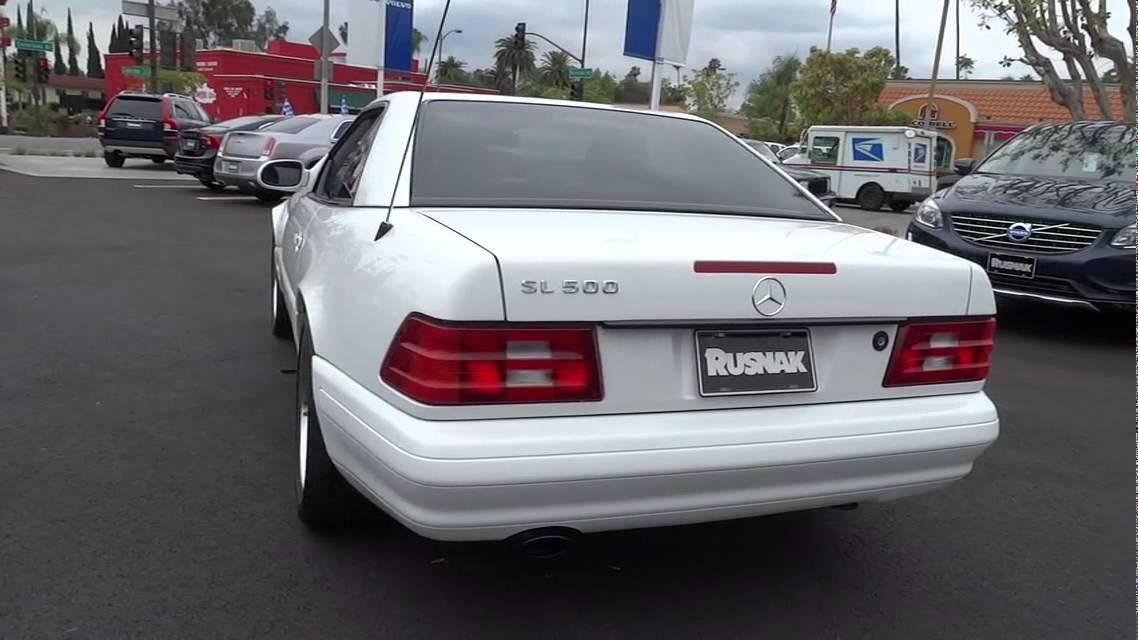 1999 Mercedes Benz SL Class Los Angeles, Pasadena, South Bay, Culver City,  Santa Monica, CA 14481