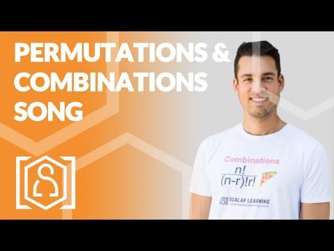 Permutations and Combinations - a musical rendition (math help and tutorial for SAT and ACT)