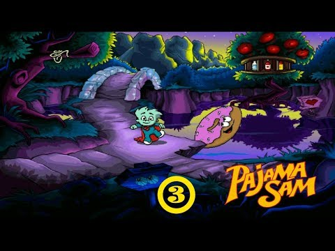 Pajama Sam: You Are What You Eat From Your Head To Your Feet #3: Our New Holey Ride!  