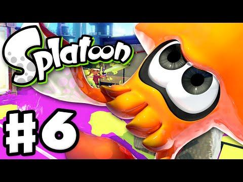 Splatoon - Gameplay Walkthrough Part 6 - The Kraken! (Nintendo Wii U)