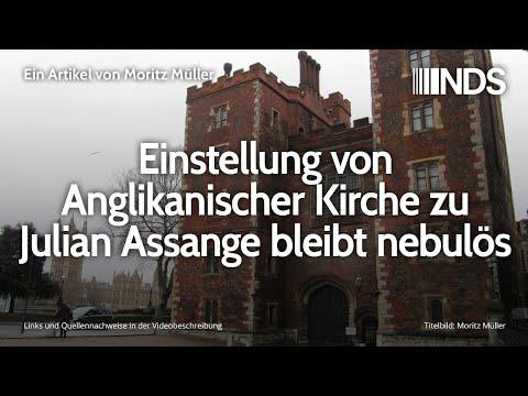 Einstellung von Anglikanischer Kirche zu Julian Assange bleibt nebulös | Moritz Müller | 17.02.2020