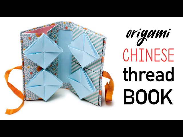 Origami Chinese Thread Book Tutorial ♥︎ DIY ♥︎