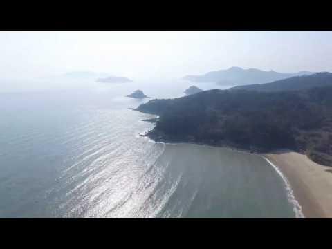 Korea travel. 섬여행 백패킹 소야도 DJI 드론 촬영.