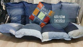 ESKİ KOTLARDAN JAPON KANEPE YATAK NASIL YAPILIR/DIY/ JAPANEESE SOFA BED