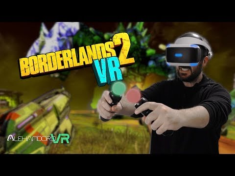 ¡YA LLEGÓ! BORDERLANDS 2 VR en PlayStation VR mis IMPRESIONES #0