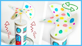 Make a Convection Heat Powered Windmill - Fun Kids Science Experiments
