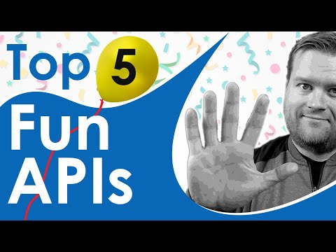 Top 5 Fun APIs For Every Developer - With Examples