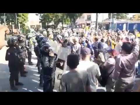 Yaracuy   Guardia Nacional Reprime Protesta De Habitantes De Urachiche Por Crisis De Servicios
