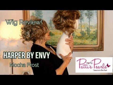 Wig Review:  Harper  Envy in Mocha Frost