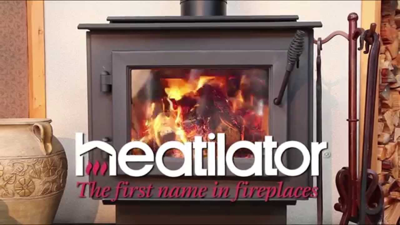 heatilator eco choice wood stove youtube