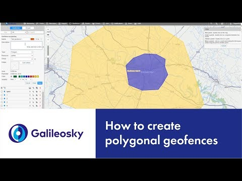 How to create polygonal geofences?