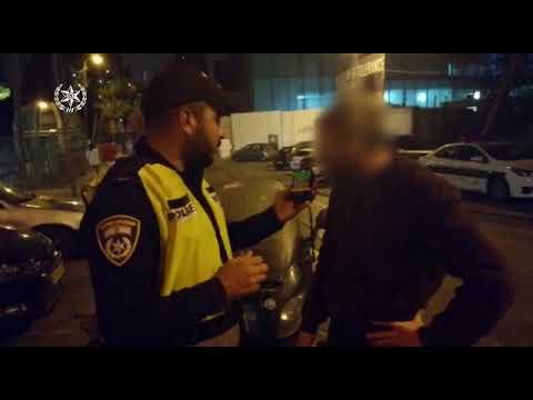 המשטרה פושטת על מרכז ירושלים ותופסת 17 נהגים שיכורים