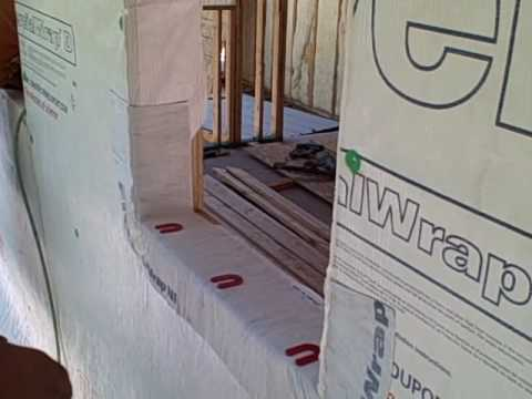 Andersen 100 window best practice install method youtube for Best new construction windows