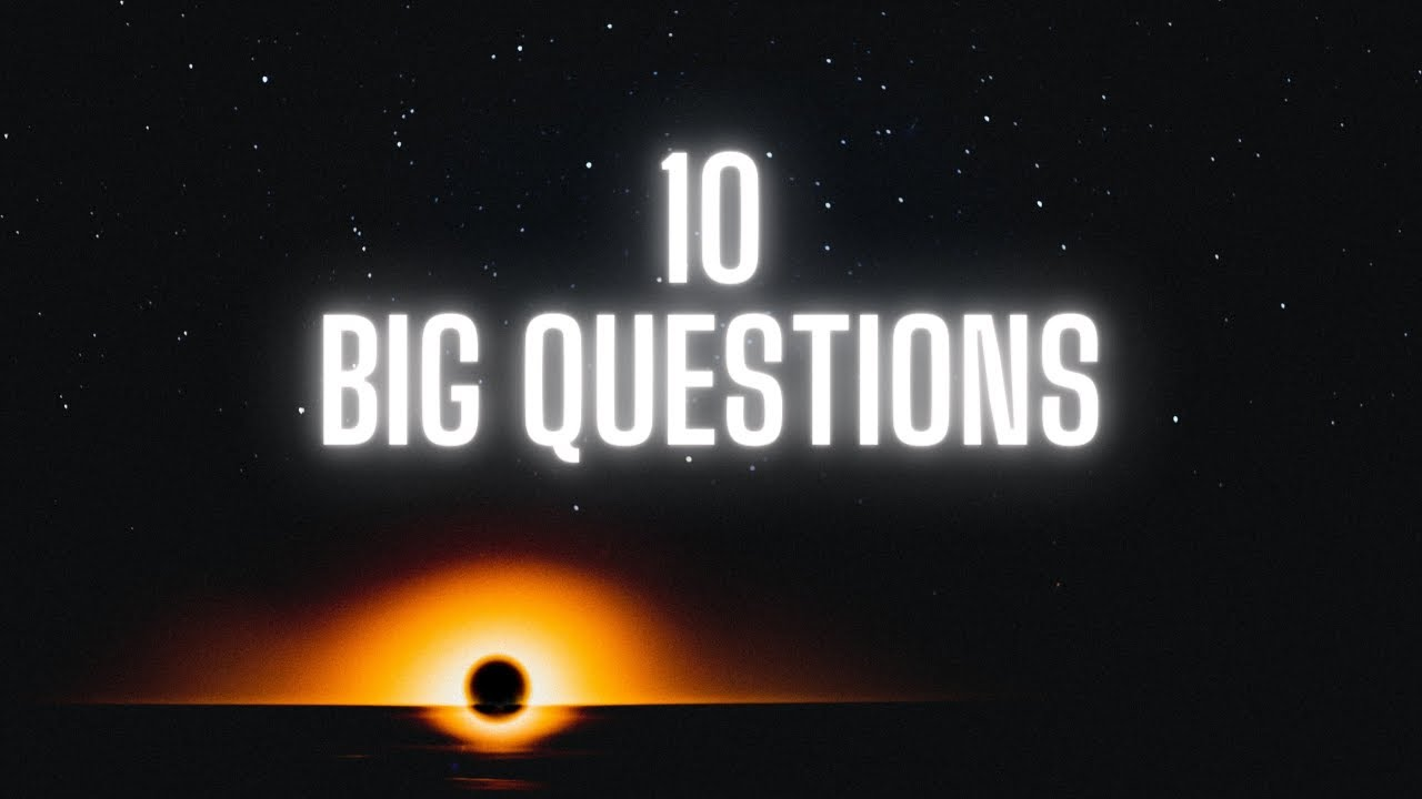 Stephen Hawking's 10 BIG Questions in 10 Minutes