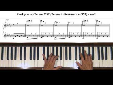 Zankyou no Terror OST (Terror in Resonance OST) walt Piano Tutorial