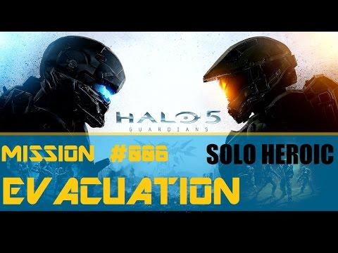 Halo 5: Guardians - Campaign Mission 6: Evacuation [Solo Heroic]