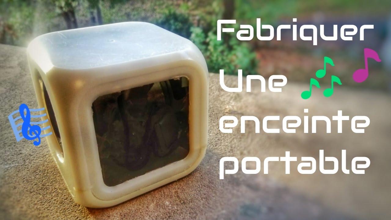 fabriquer une enceinte portable youtube. Black Bedroom Furniture Sets. Home Design Ideas