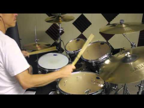 Billy Joel's  Angry Young Man Drum Cover (Live 1982)