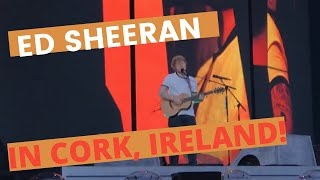 Eraser - Ed Sheeran Live in Cork City, Ireland (May 2018)! Pitch Area close to stage!