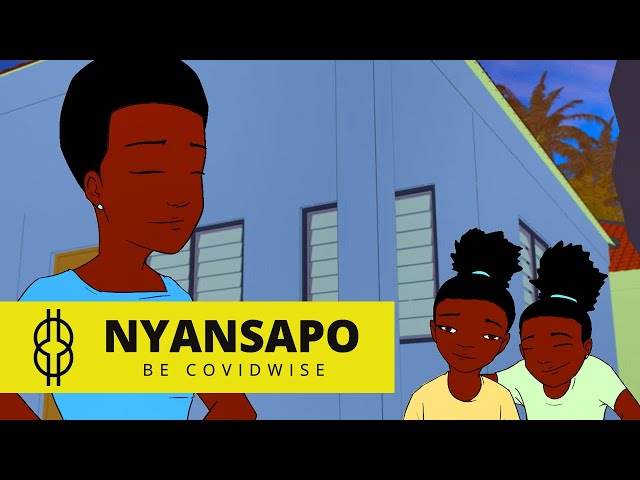 Nyansapo -  Be Covidwise - Episode 5 | Cartoon Series Ghana