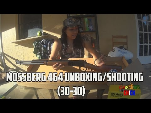 Unboxing and target shooting a Mossberg 464 30-30