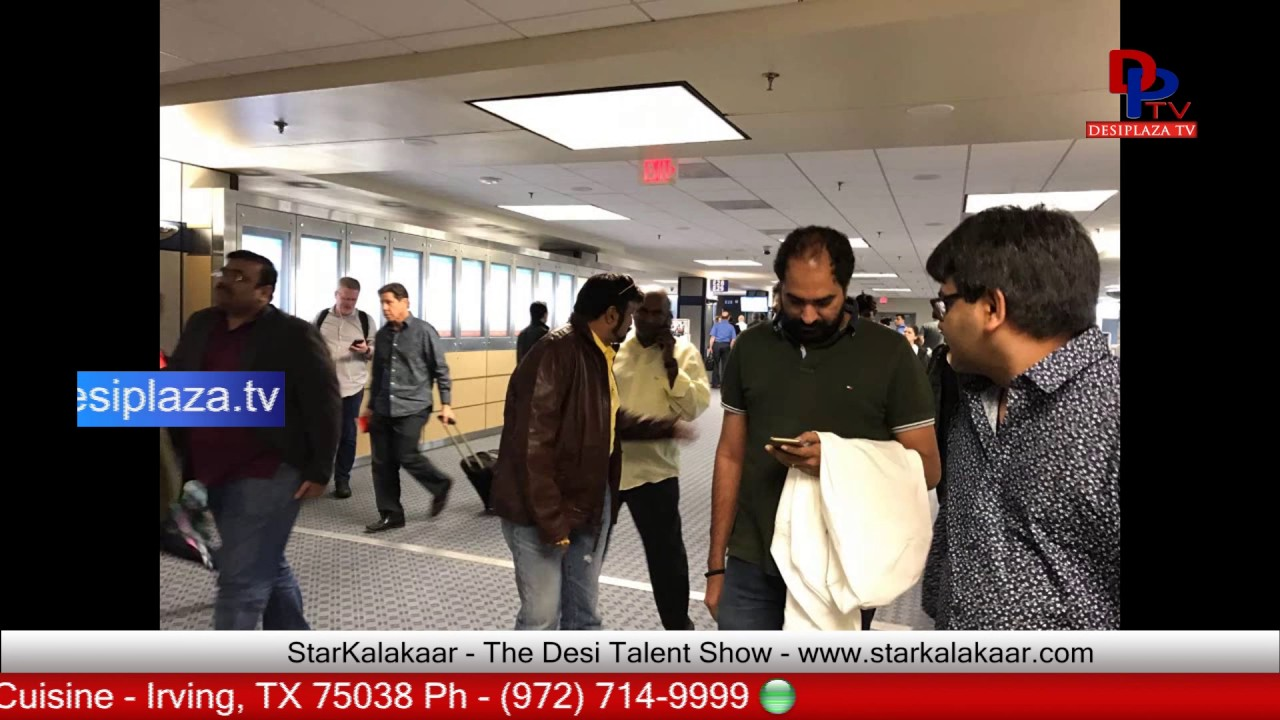 Some visuals from Nandamuri Balakrishna visit to Dallas for Gautamiputra Satakarni | 2017