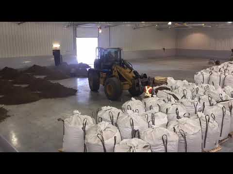How to Install Footing First Footing in Indoor arena. Time lapse video. Reused/ Recycled footing.