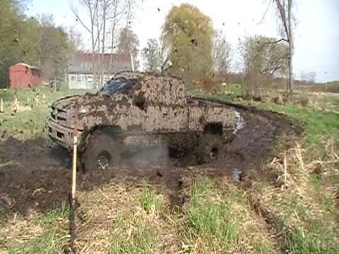 dodge ram mudding no more transmission youtube - Dodge Ram 1500 Lifted Mudding