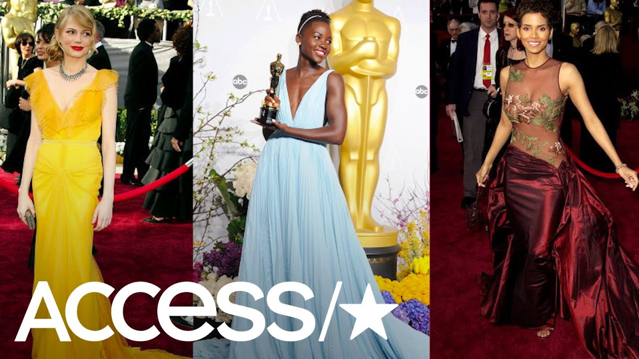 9828d437ae18 The Best Oscars Red Carpet Dresses Of All Time | Access - YouTube