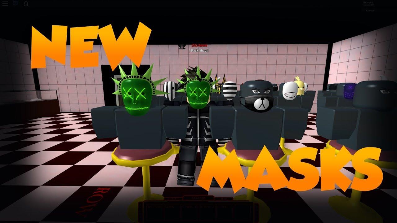 (ROBLOX) Ro - Ghoul | 3 NEW MASKS & CODE!!! (Shousei Mask, Bear Mask, and  Purged Liberty Mask)