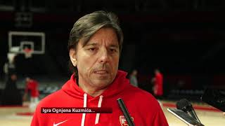 Trener Crvene Zvezde Andrija Gavrilović Pred Duel Sa Realom U Evroligi  Sport Klub Košarka