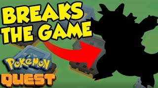 Pokemon Quest - THE MOST OVERPOWERED STRATEGY EVER?!
