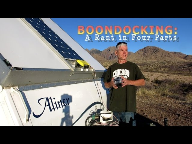 Boondocking and Camping - Slim Potatohead   PlaybackLoop