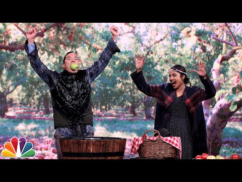 Bobbing for Apples with Priyanka Chopra