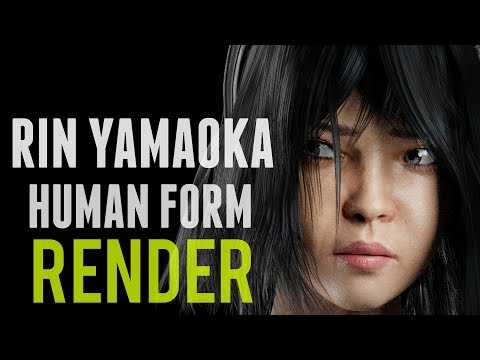Dead by Daylight Animation | A render of Rin Yamaoka in human form