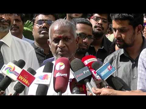 Beep Song Controversy - Music Director Ilayaraja Yelling At Reporters - Red Pix 24x7