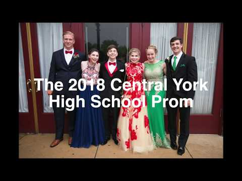 Scenes from the 2018 Central York High School prom