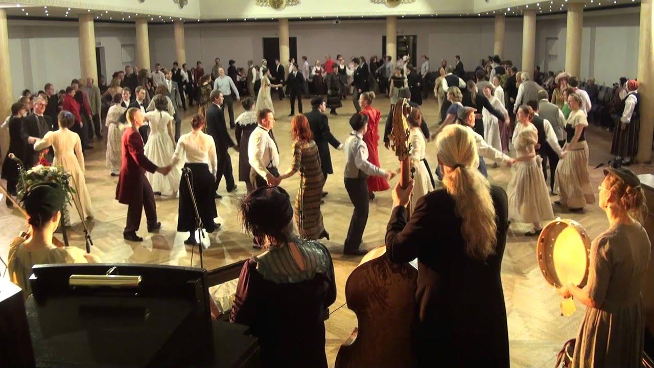 """00030 Folkloras mūzikas un deju kopas DANDARI 35 g. jubilejas  """"kadriļu balle"""""""""""