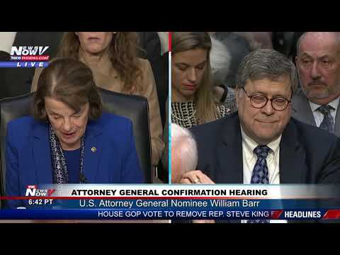 PART 1 Attorney General Nominee William Barr Confirmation Hearing