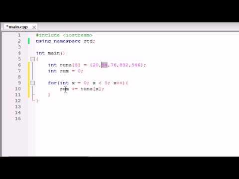 buckys-c++-programming-tutorials---34---using-arrays-in-calculations