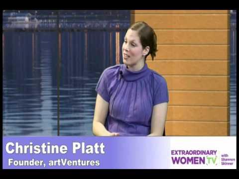 Christine Platt interview with Shannon Skinner on ExtraordinaryWomenTV.com
