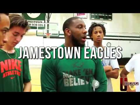 """JAMESTOWN EAGLES """"THE BEGINNING"""" THE TOWN 