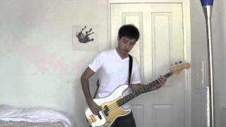 Papa Roach - Scars Bass Cover (With Tab)