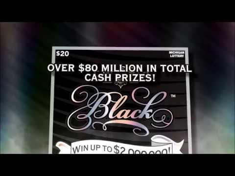 Michigan Lottery: Classic Black