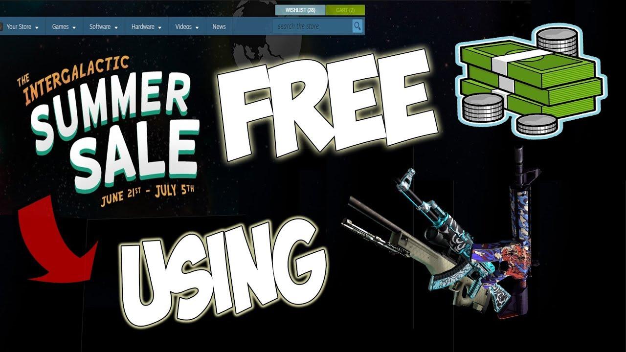 Steam Free Money