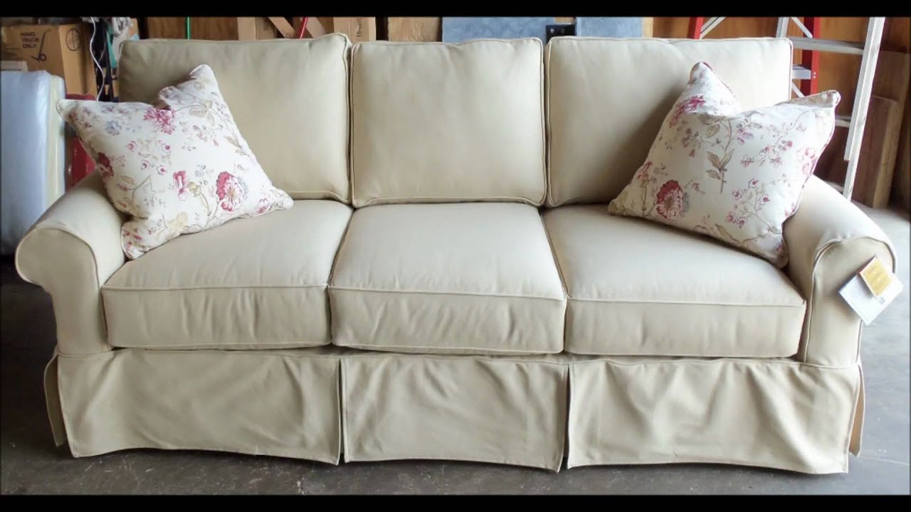Rowe Furniture Slipcover Sofas  Barnett Furniture Trussville / Birmingham    YouTube